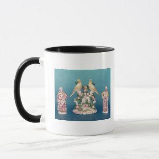 Mug Worcester de Turc et de son compagnon avec des