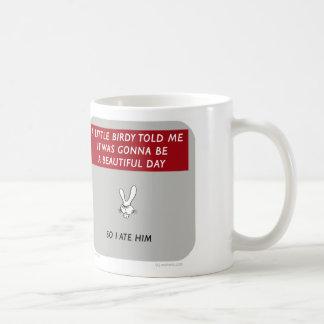 "Mug WW046 waitwot ""lapin de badass"" peu birdy"