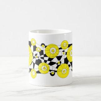 Mug yellow lemons