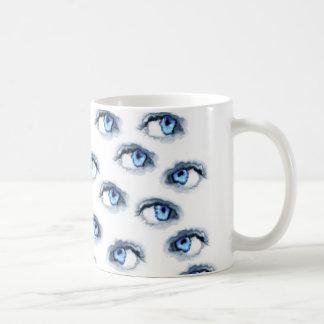 Mug yeux bleus