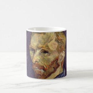 Mug Yeux foncés d'autoportrait de Vincent van Gogh