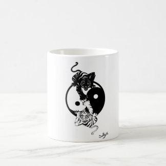 Mug Ying yang tiger