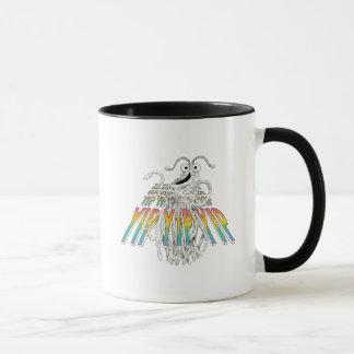 Mug Yip Yips dessin de croquis de B&W