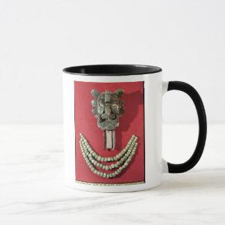 Mug Zapotec pectoral la forme de représentation de