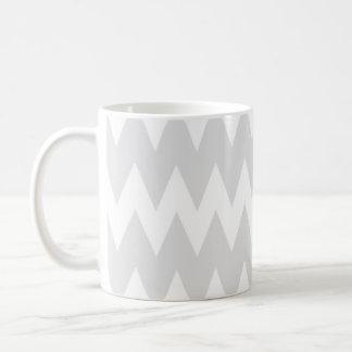 Mug Zigzags gris blancs et en pastel