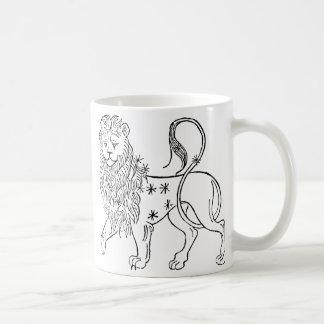 Mug Zodiaque : Lion, 1494