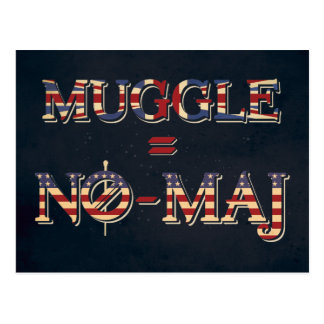 Muggle = NO--Commandant Carte Postale