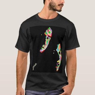 Mulder et peinture de Synesthesia de Scully T-shirt