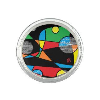 multicolor bague