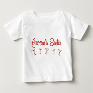 MultiMartini-GroomsSister-Rouge T-shirts