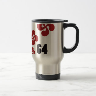 Multiple croix64.ai mug de voyage