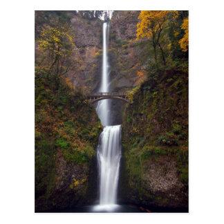 Multnomah tombe en défunt automne carte postale