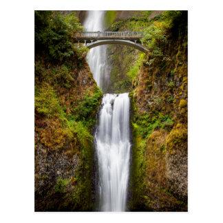 Multnomah tombe le long de la gorge 2 du fleuve cartes postales