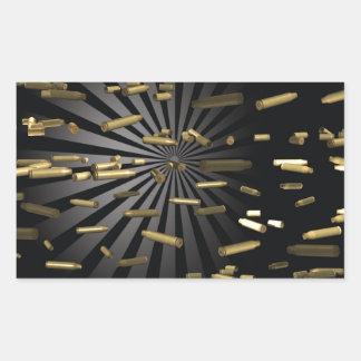 munitions sticker rectangulaire
