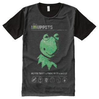 Muppets Kermit la grenouille T-shirt Tout Imprimé