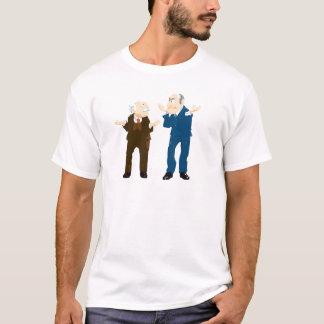 Muppets Sattler et Waldorf regardant l'un l'autre T-shirt