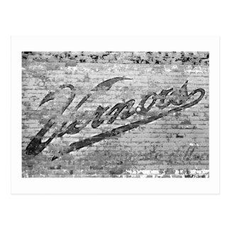 Mur Ann Arbor, Michigan de Vernors Carte Postale