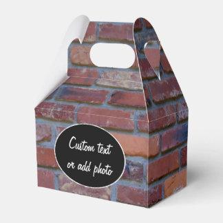 Mur de briques - briques et mortier mélangés ballotins