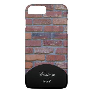 Mur de briques - briques et mortier mélangés coque iPhone 7 plus