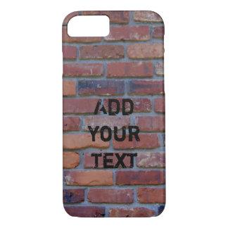 Mur de briques - briques et mortier mélangés coque iPhone 8/7
