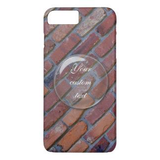 Mur de briques - briques et mortier mélangés coque iPhone 8 plus/7 plus