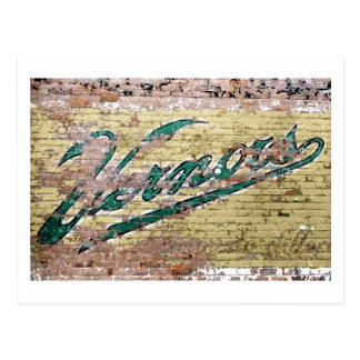 Mur de briques d'Ann Arbor Michigan Vernors rétro Cartes Postales