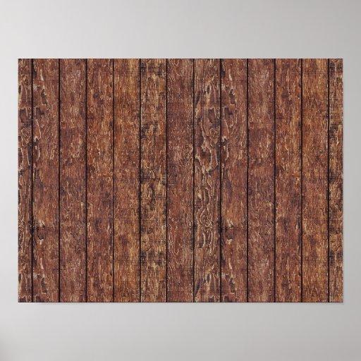mur de grange fait de vieilles planches en bois posters. Black Bedroom Furniture Sets. Home Design Ideas