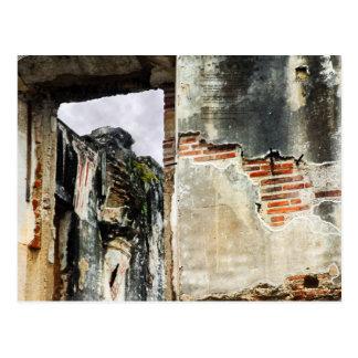 Mur d'église, La Antigua Guatemala Carte Postale