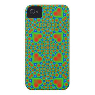 Mûre abstraite de motif coque iPhone 4 Case-Mate