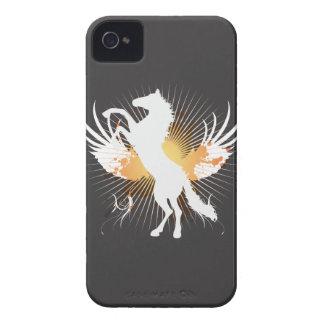 mûre de l art abstrait v1 de cheval blanc coques Case-Mate iPhone 4