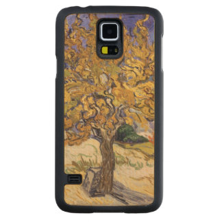 Mûrier de Vincent van Gogh |, 1889 Coque En Érable Galaxy S5 Case