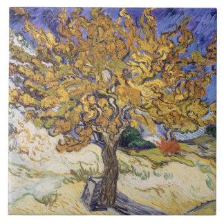 Mûrier de Vincent van Gogh |, 1889 Grand Carreau Carré