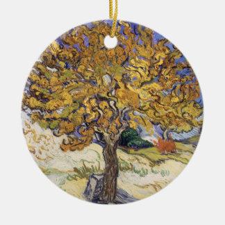Mûrier de Vincent van Gogh |, 1889 Ornement Rond En Céramique