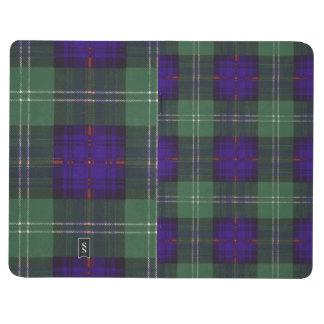 Murray de tartan écossais de kilt de plaid de clan carnet de poche