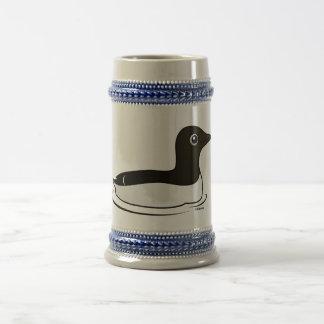 Murre commun (natation) chope à bière