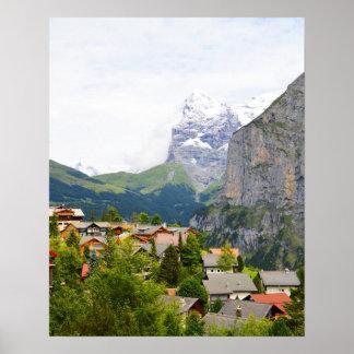 Murren en Suisse Poster