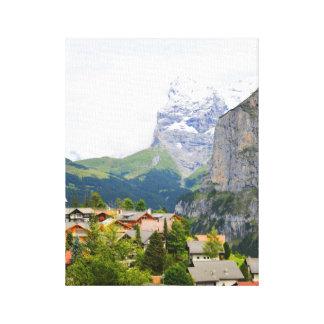 Murren en Suisse Toile