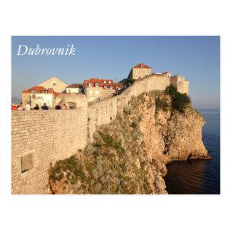 Murs de ville de Dubrovnik Cartes Postales