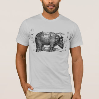 Musashi conçoit le rhinocéros t-shirt