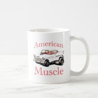 muscle 55 américain chevy mug