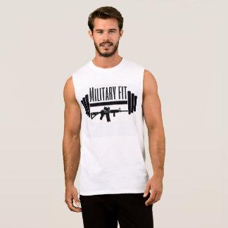 muscle convenable de militaires t-shirt sans manches