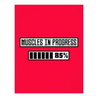 Muscles la séance d'entraînement en cours Z1l52 Prospectus 21,6 Cm X 24,94 Cm