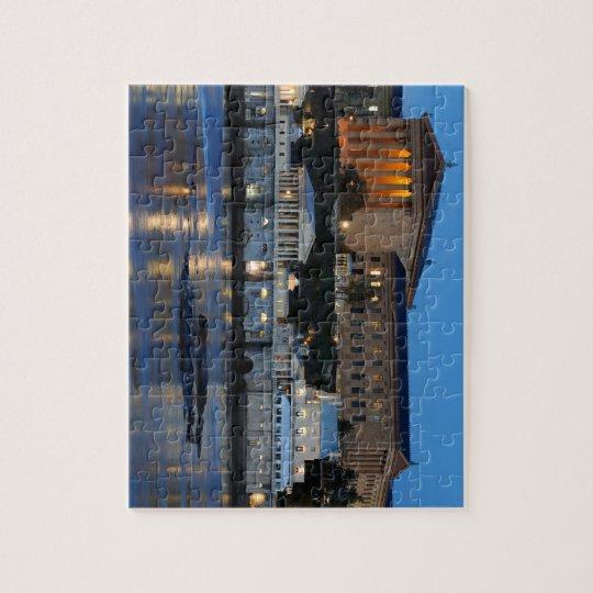 Musée d'Art de Philadelphie et usines hydrauliques Puzzle