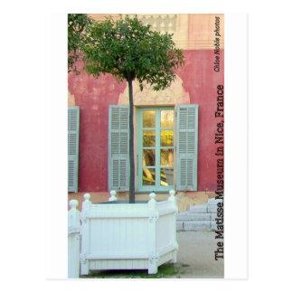 Musée de Matisse à Nice, France Carte Postale