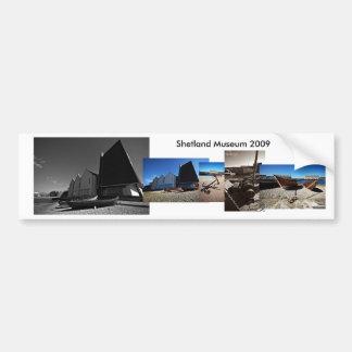 Musée de Shetland Autocollant Pour Voiture