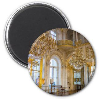 Musée d'ermitage d'état St Petersburg Russie Magnet Rond 8 Cm