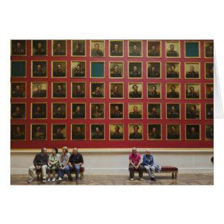 Musée d'ermitage, pièce 197, la galerie de 1812 carte de vœux