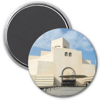 Musée des arts islamiques, Qatar Magnet Rond 7,50 Cm