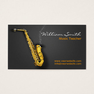 Music Teacher Cartes De Visite