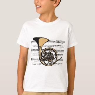 Musical 06 B de cor de harmonie T-shirt